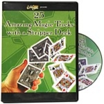 25-Amazing Magic Tricks with a Stripper Deck DVD