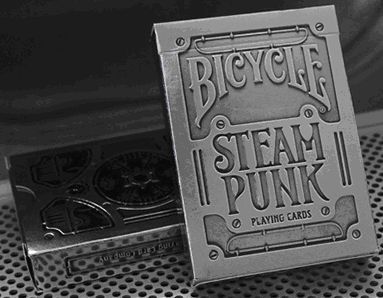 Bicycle Silver Steampunk Deck by USPCC - Trick