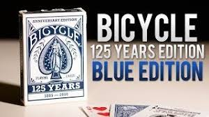 Bicycle Deck 125th Anniversary Edition Blue