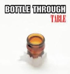 Bottle Through Table Gimmick - Pack of All 3 Colours