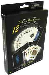 THE CLASSIC MAGIC COLLECTION-12 FANTASTIC MAGIC CARD TRICKS