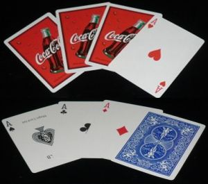 Coca Cola Card Set
