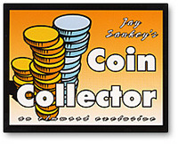 Coin Collector trick by Jay Sankey