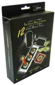 THE CLASSIC MAGIC COLLECTION-12 FANTASTIC MAGIC COIN TRICKS