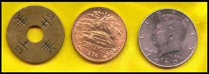 Copper Silver Brass Coin Transposition