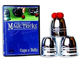 Amazing Easy To Learn Magic Tricks- Cups & Balls Combo
