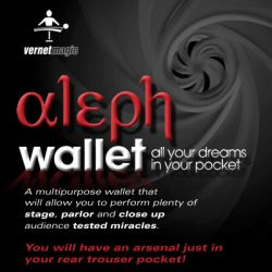 Aleph Wallet (Cartera y DVD) - Vernet Magic - DVD