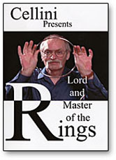 Cellini Lord & Master of Rings, DVD