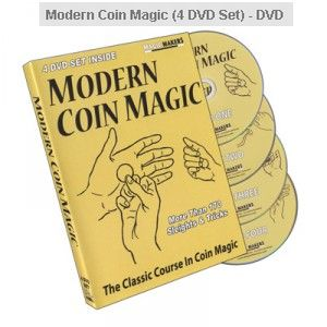 Modern Coin Magic (4 DVD Set) - DVD