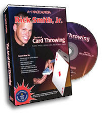 Art of Card Throwing DVD - Rick Smith Jr