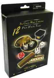 THE CLASSIC MAGIC COLLECTION-12 FANTASTIC MAGIC DICE TRICKS