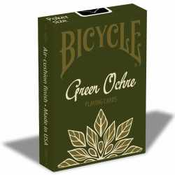 Bicycle Playing Cards Green Ochre
