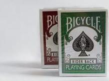 Bicycle Deck Cincinnati Burgandy and Green