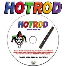 Hot Rod DVD with Hot Rods