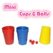 Mini Cups and Balls - Plastic