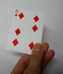 Moving Points 4 of Diamonds to 6 Of Diamonds