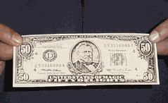 Ripped & Restored Bill - US $ Model