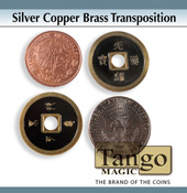Silver Copper Brass Transposition by Tango