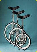 "Beginners Unicycle 12""/ 20 spoke wheel."