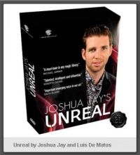 Unreal By Joshua Jay And Luis De Matos - DVD