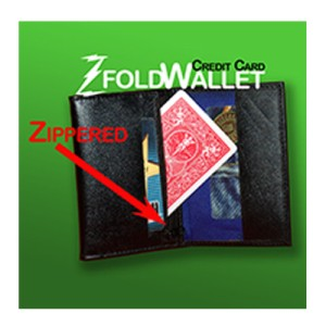 Z-Fold Credit Card Wallet-Zip