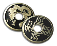 Chinese Coin (Black)