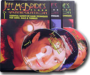 Jeff McBride's World Class Manipulation 3-Volume DVD Set