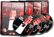 Johnny Thompson Commercial Classics of Magic - Vol 1, 2, 3,4 DVD