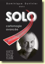 Dominique Duvivier Solo DVD