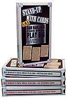 Dan Harlan's Pack Small Play Big Stand-Up With Cards DVD