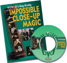 Ray Kosby's-Impossible Close Up Magic DVD