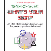 What's Your Sign by Rachel Colombini Mentalism